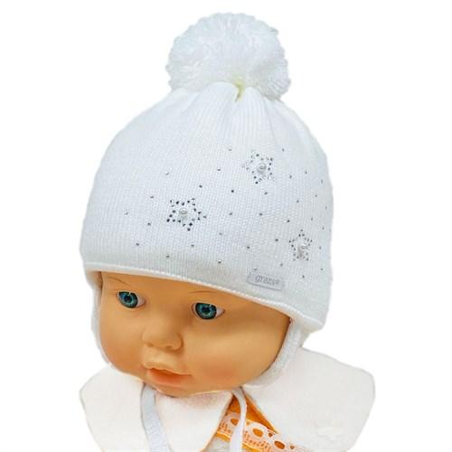 GRANS мод. A 1024 ST шапка с утеплителем, подклад хлопок (р.36-38) - фото 31546