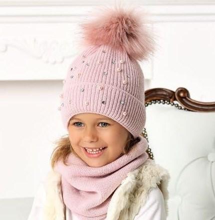 .AJS шапка 40-475 двойная вязка (р.54-56) - фото 31729