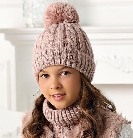 .AJS комплект 40-536 шапка на флисе + снуд (р.52-54) - фото 32310