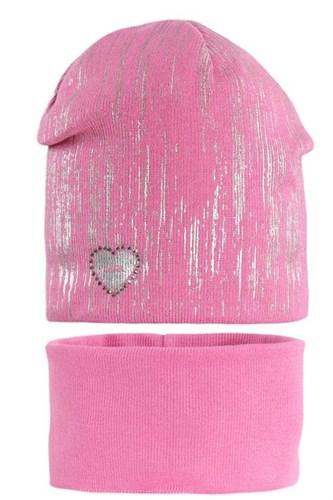 AGBO комплект 1865 Dafne шапка вязаная, подклад хлопок+снуд (р.50-52) - фото 32340