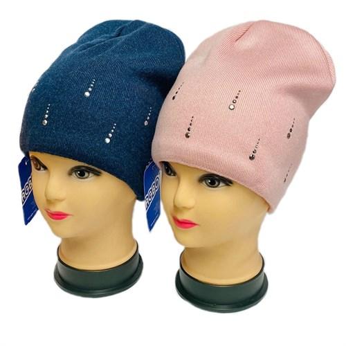 AGBO шапка 3101 Paloma вязаная, подклад флис (р.52-54) - фото 32347