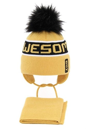 AGBO комплект 3245 Odys4 шапка на утеплителе, подклад хлопок+снуд (р.46-48) - фото 32508