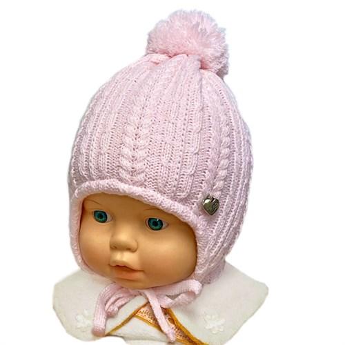 GRANS мод. A 1022 ST шапка с утеплителем, подклад хлопок (р.38-40) - фото 32546