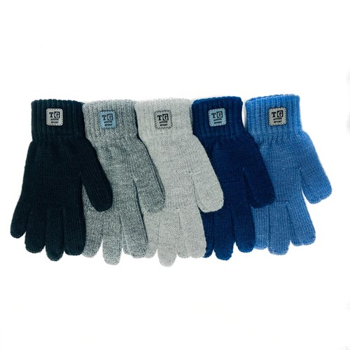 Теплыши перчатки TG-512 одинарная вязка (размер 15) - фото 32641