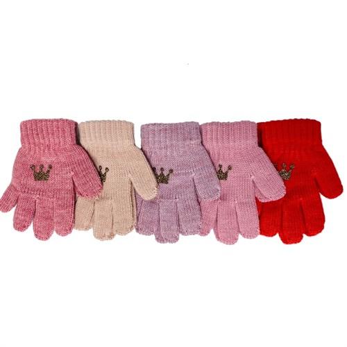 Теплыши перчатки TG-412 одинарная вязка (р.13/3-4 года) - фото 32651