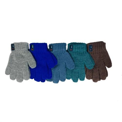Теплыши перчатки TG-069 одинарная вязка (р.13/3-4 года) - фото 32657