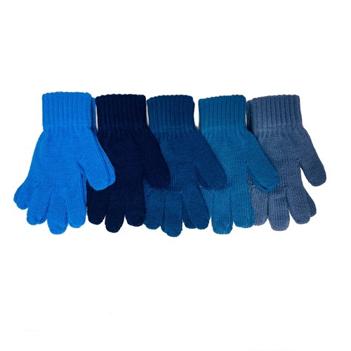 Теплыши перчатки TG-078 одинарная вязка (размер 14) - фото 32658