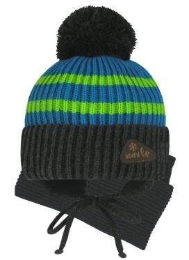 Grans комплект A 995 ST шапка на утеплителе, подклад хлопок+снуд (р.50-52) - фото 32711
