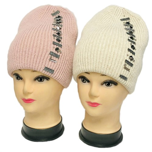 LAMIR шапка двойная вязка  (р.56-58) - фото 32752