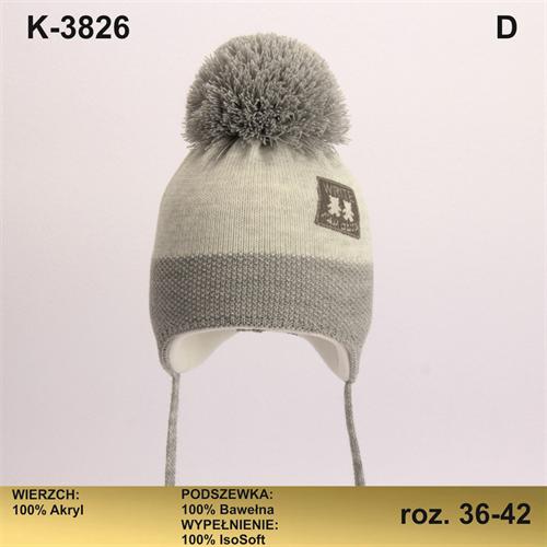 Magrof шапка KOD-3826 ISOSOFT подклад хлопок (р.36-42) - фото 32846