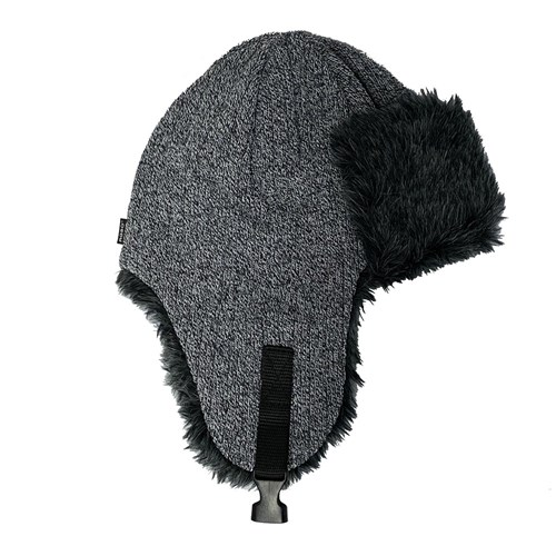 AGBO шапка-ушанка 3160 Jarek вязаная, подклад флис (р.52-54) - фото 32927