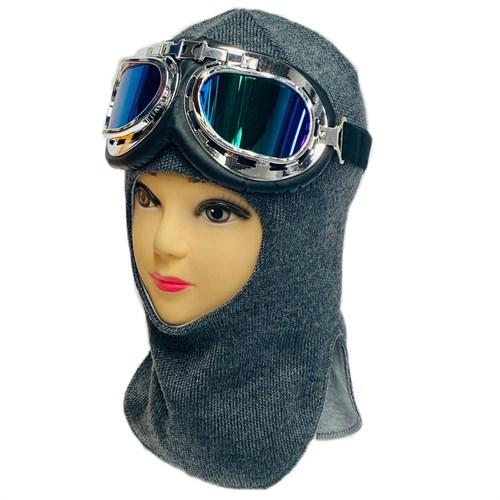 Milli шлем модель Эльбрус + очки на утеплителе  (на 6 лет) - фото 32989