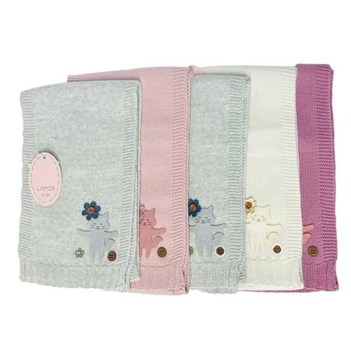LAMIR шарф Пинки вязаный (р.120*17) - фото 33028