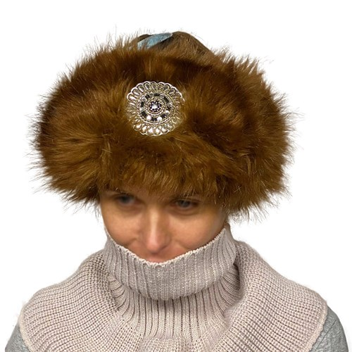 Mila шапка вязаная подклад флис  (р.54-56) - фото 33038