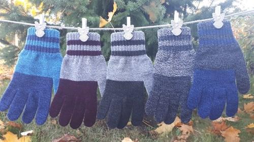 margot перчатки MANTA одинарная вязка (размер 16) - фото 33219