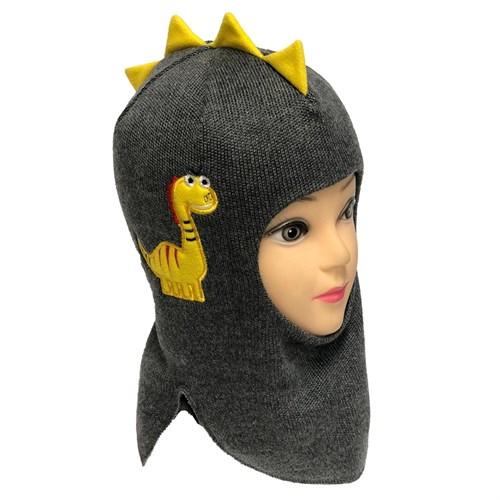 Milli шлем модель Дракоша,на утеплителе  (на 2 года) - фото 33227