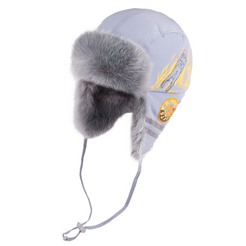 TuTu модель 3-001883 шапка ушанка с утеплителем, подклад хлопок (р.48-50) - фото 33309