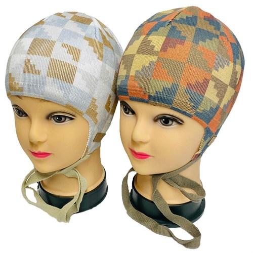 Barbaras модель BM 127/C шапка вязаная, подклад хлопок (р.46-48) - фото 33761