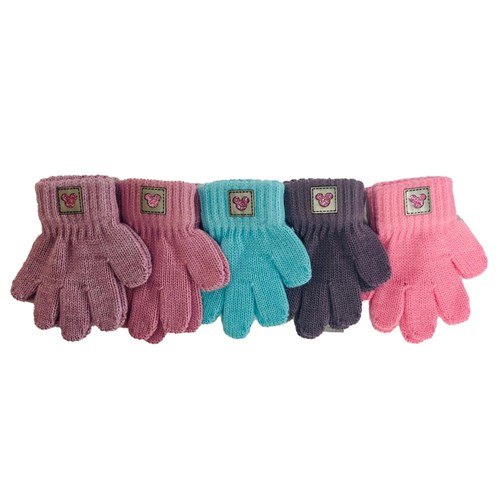 Теплыши перчатки TG-407 одинарная вязка (размер 12) - фото 33953