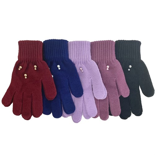 Теплыши перчатки TG-114 одинарная вязка (размер 16) - фото 33973
