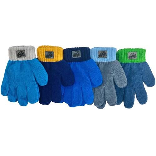 Теплыши перчатки TG-095 одинарная вязка (р.13/3-4 года) - фото 33977