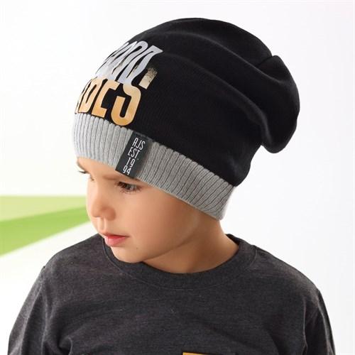 .AJS шапка 42-207 одинарная вязка (р.52-54) - фото 34013