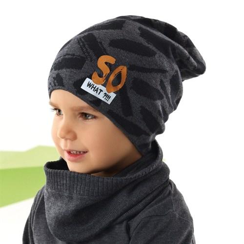 .AJS шапка детская 42-225 одинарная вязка (р.52-54) - фото 34031