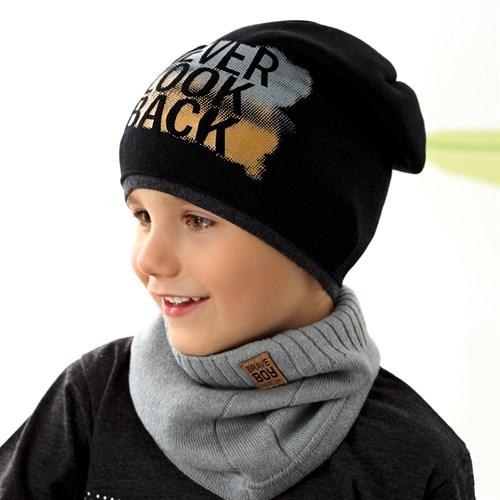 .AJS шапка 42-226 одинарная вязка (р.52-54) - фото 34041