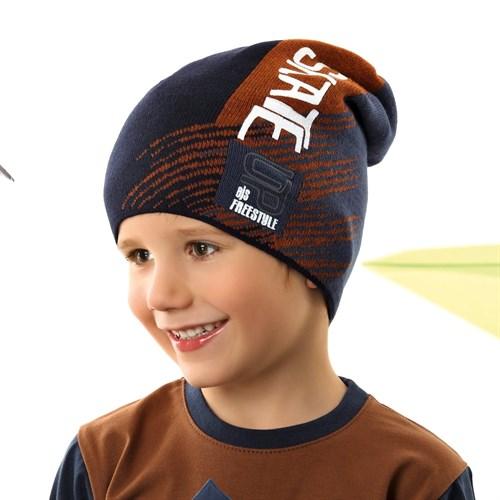 .AJS шапка 42-184 одинарная вязка (р.52-54) - фото 34042