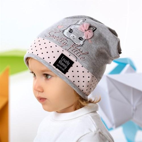 .AJS шапка 42-035 одинарный трикотаж (р.44-46, 48-50) - фото 34056