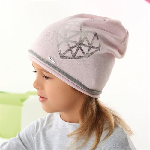.AJS шапка 42-143 одинарная вязка (р.52-54) - фото 34058