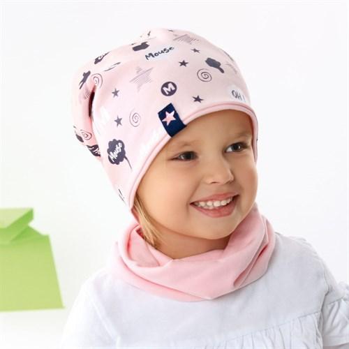 .AJS шапка 42-082 двухсторонний трикотаж (р.48-50, 52-54) - фото 34094