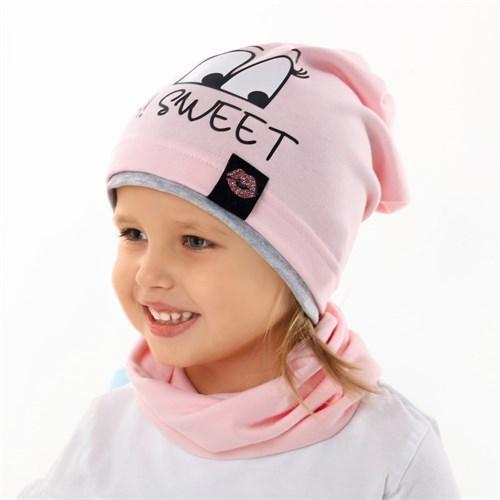 .AJS шапка 42-093 одинарный трикотаж (р.48-50, 52-54) - фото 34111
