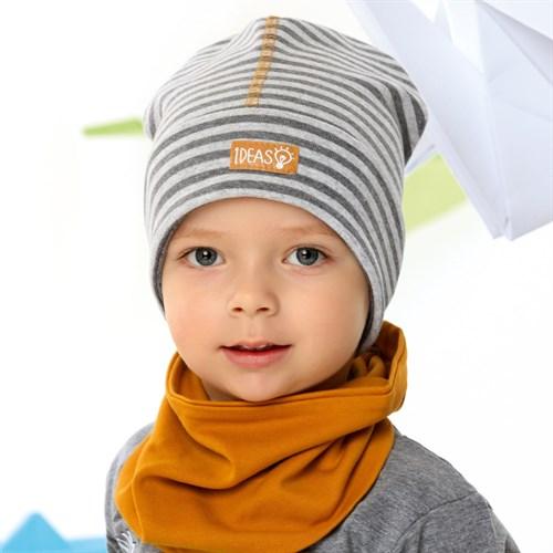 .AJS шапка 42-098 одинарный трикотаж (р.44-46, 48-50, 52-54) - фото 34131