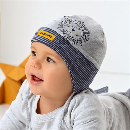 .AJS шапка 42-016 одинарный трикотаж (р.40-42, 44-46) - фото 34141