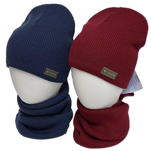 GRANS комплект K 505 ACR-D шапка вязаная, подклад хлопок + снуд (р.52-54) - фото 34286