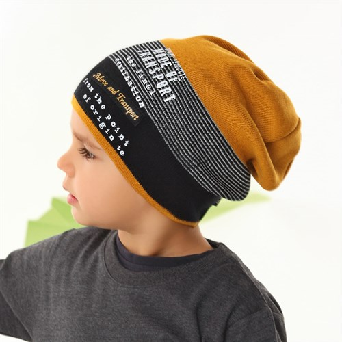 .AJS шапка 42-169 одинарная вязка (р.54-56) - фото 34326