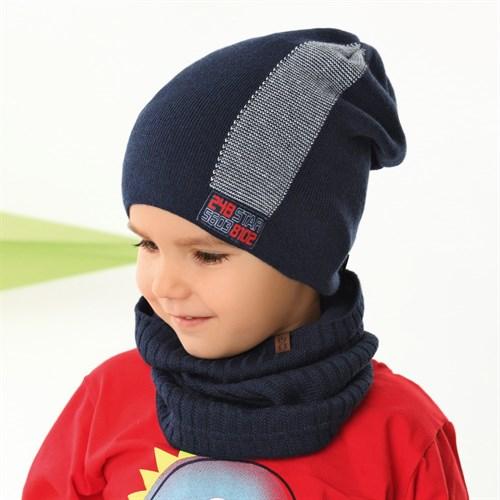 .AJS шапка 42-200 одинарная вязка (р.52-54) - фото 34328