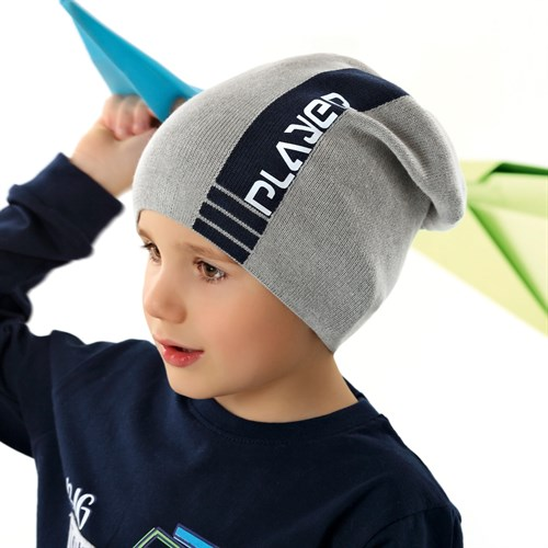 .AJS шапка 42-209 одинарная вязка (р.54-56) - фото 34338