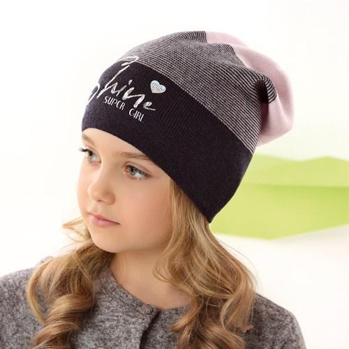 .AJS шапка 42-160 одинарная вязка (р.52-54) - фото 34355
