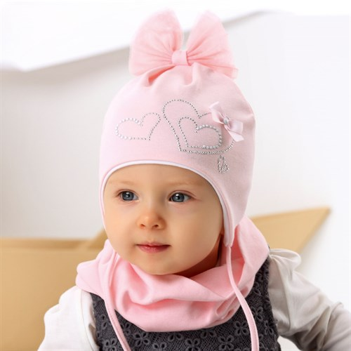 .AJS шапка 42-009 двойной трикотаж (р.36-38, 40-42, 44-46) - фото 34433