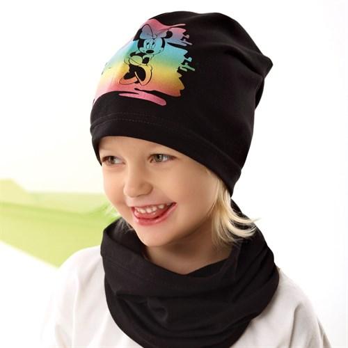 .AJS комплект 42-086 шапка одинарный трикотаж + снуд (р.44-46, 48-50, 52-54) - фото 34460