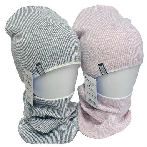 AGBO комплект 2836 MERLIN шапка вязаная,подклад хлопок+снуд (р.48-50) - фото 34533