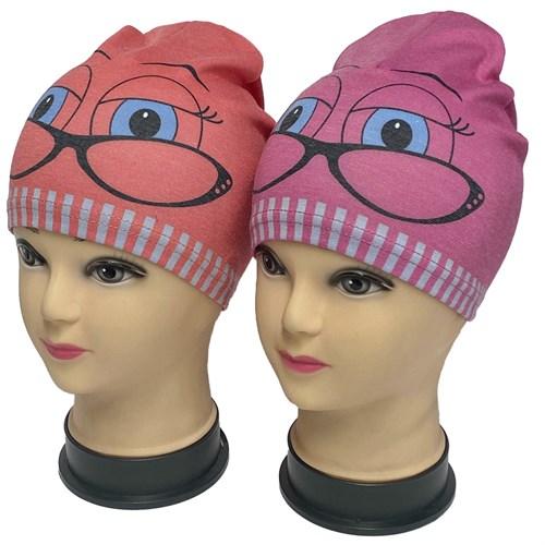 ambra шапка одинарный трикотаж (р.48-50) очки - фото 34631