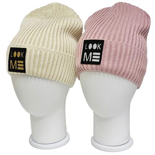 LAMIR вязаная шапка Сакура P 039, подклад хлопок (р.54-56) - фото 34766