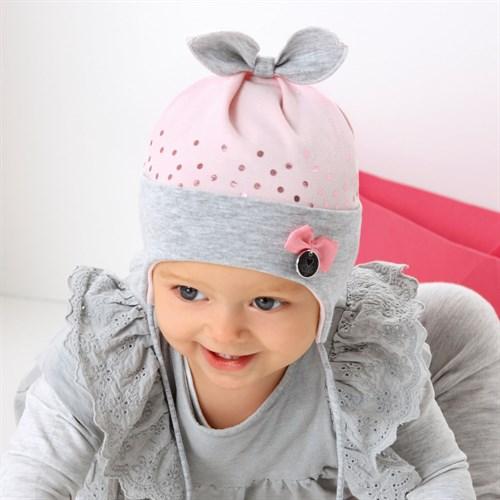 .AJS шапка 42-034 одинарный трикотаж (р.44-46, 48-50) - фото 34852