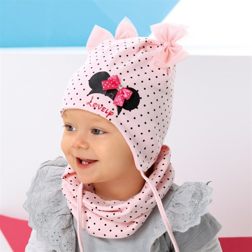 .AJS комплект 42-037 шапка двойной трикотаж + снуд (р.44-46, 48-50, 52-54) - фото 34857