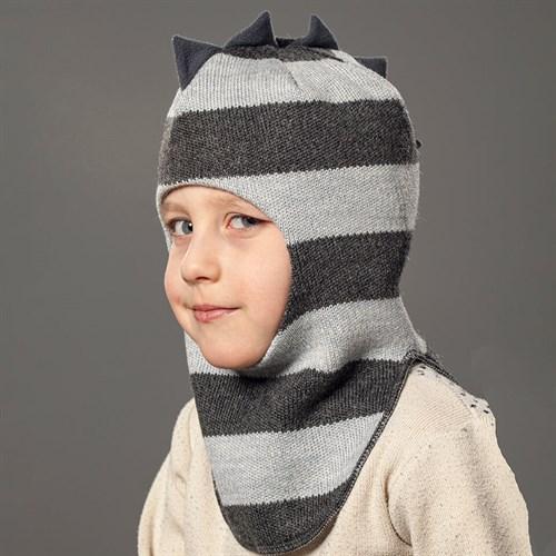 Milli шлем модель Дракоша, на хлопке (на 2года) демисезонный - фото 34941