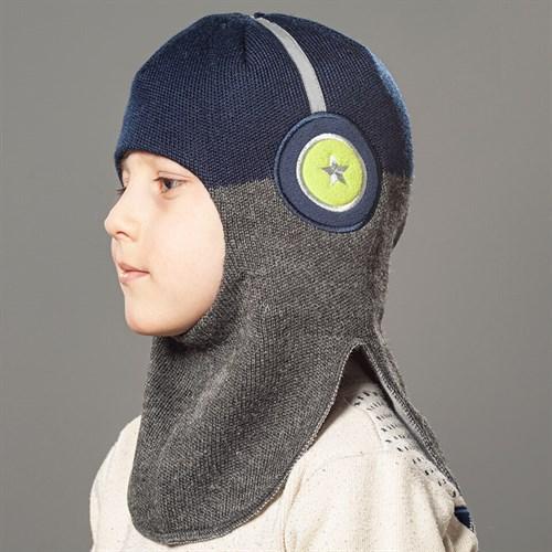 Milli шлем модель Наушники, на хлопке (на 4 года) демисезонный - фото 34995