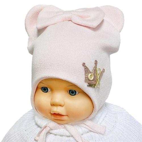 LAMIR вязаная шапка Нина P116, хлопковый подклад (р.46-48) - фото 35389